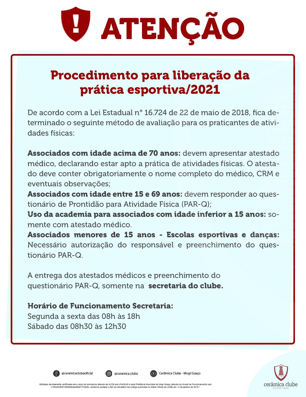 Prática Esportiva 2021
