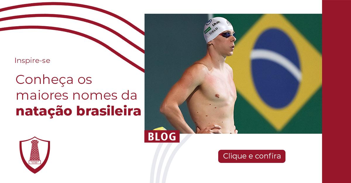 Os grandes nomes da natação brasileira