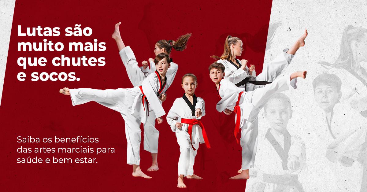 Muito além de chutes e socos. Veja os benefícios de praticar artes marciais!