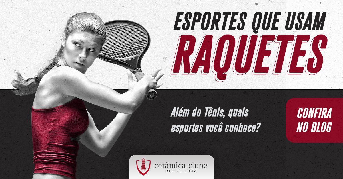 Esportes que necessitam de raquetes para praticar. Conheça quais são!