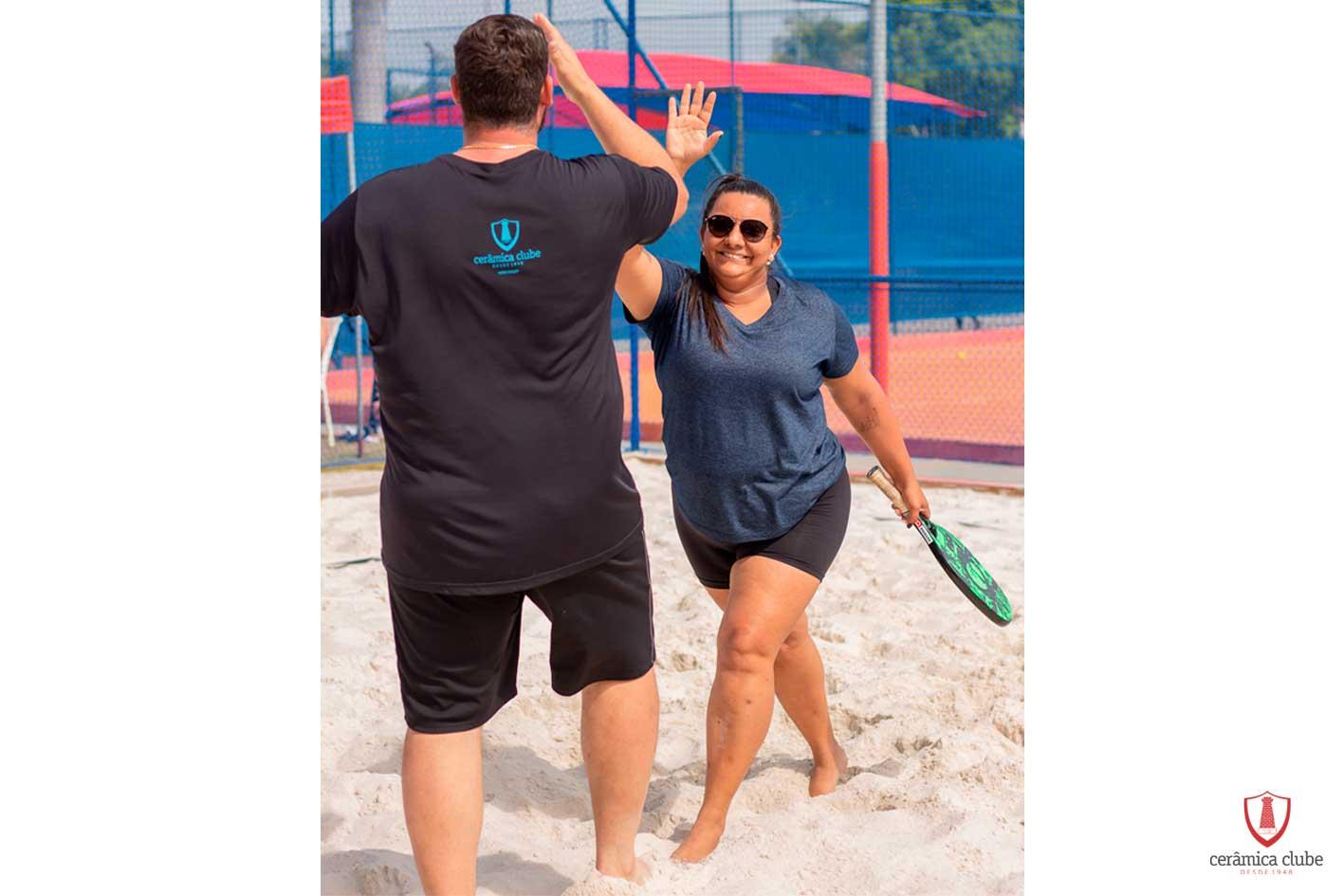 Torneio ao livre   Beach Tênnis – 07/08